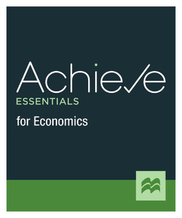 Achieve Essentials for Economics (1-Term Access) by Macmillan Learning - First Edition, 2021 from Macmillan Student Store