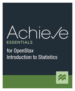Achieve Essentials for Openstax Introduction to Statistics (1-Term Access) by Macmillan Learning - First Edition, 2021 from Macmillan Student Store