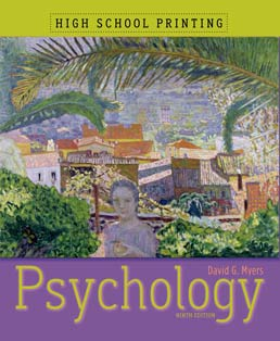 Psychology (High School Printing) by David G. Myers - Ninth Edition, 2010 from Macmillan Student Store