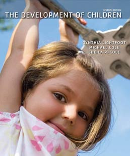 Development of Children by Cynthia Lightfoot; Michael Cole; Sheila Cole  - Seventh Edition, 2013 from Macmillan Student Store