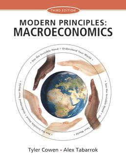 Modern Principles: Macroeconomics by Tyler Cowen; Alex Tabarrok - Third Edition, 2015 from Macmillan Student Store