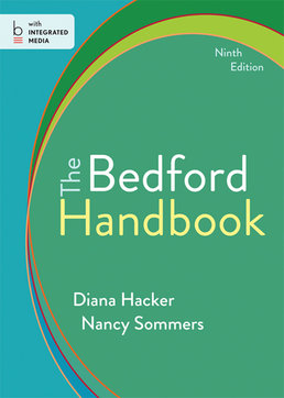 Bedford Handbook by Diana Hacker; Nancy Sommers - Ninth Edition, 2014 from Macmillan Student Store