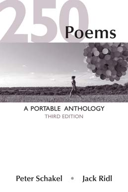 250 Poems by Peter Schakel; Jack Ridl - Third Edition, 2014 from Macmillan Student Store