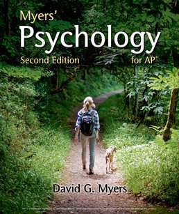 Myers' Psychology for AP® by David G. Myers - Second Edition, 2015 from Macmillan Student Store