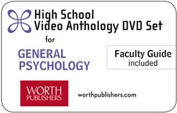 Psychology Video Anthology DVD (High School) by Worth Publishers - First Edition, 2012 from Macmillan Student Store