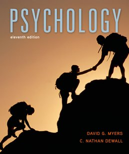 Psychology by David G. Myers; C. Nathan DeWall - Eleventh Edition, 2015 from Macmillan Student Store