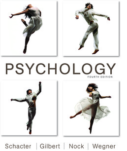 Psychology by Daniel Schacter; Daniel Gilbert; Matthew Nock; Daniel Wegner - Fourth Edition, 2017 from Macmillan Student Store