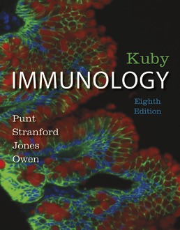 Kuby Immunology by Jenni Punt; Sharon Stranford; Patricia Jones; Judy Owen - Eighth Edition, 2019 from Macmillan Student Store