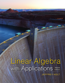 Linear Algebra with Applications by Jeffrey Holt - Second Edition, 2017 from Macmillan Student Store