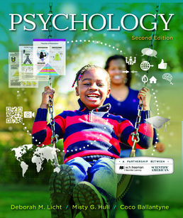 Scientific American: Psychology by Deborah Licht; Misty Hull; Coco Ballantyne  - Second Edition, 2017 from Macmillan Student Store