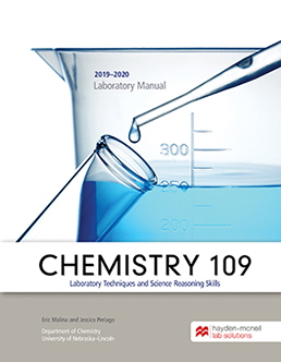 Chemistry 109 Laboratory Techniques & Science Reasoning Skills (2019-2020) by Eric Malina; Jessica Periago - First Edition, 2020 from Macmillan Student Store