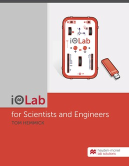iOLab Experiments for Scientists and Engineers by Tom Hemmick - First Edition, 2019 from Macmillan Student Store