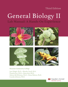 HM Biology 1407 Lab Manual by Jyoti Wagle, Ph.D.; Marsha Turell, M.A. - First Edition, 2018 from Macmillan Student Store