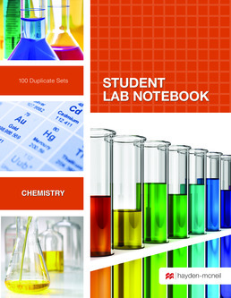 Hayden-McNeil  Chemistry Carbonless TOP PERM BND 100-SET SLN by Hayden-McNeil - First Edition, 2016 from Macmillan Student Store