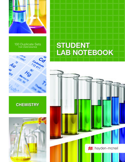 Hayden-McNeil  Chemistry Carbonless Spiral Bound 100 SET-TOP PERF by Hayden-McNeil - First Edition, 2016 from Macmillan Student Store