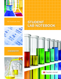 Hayden-McNeil Chemistry Carbonless Spiral Bound 100-SET SLN by Hayden-McNeil - First Edition, 2016 from Macmillan Student Store