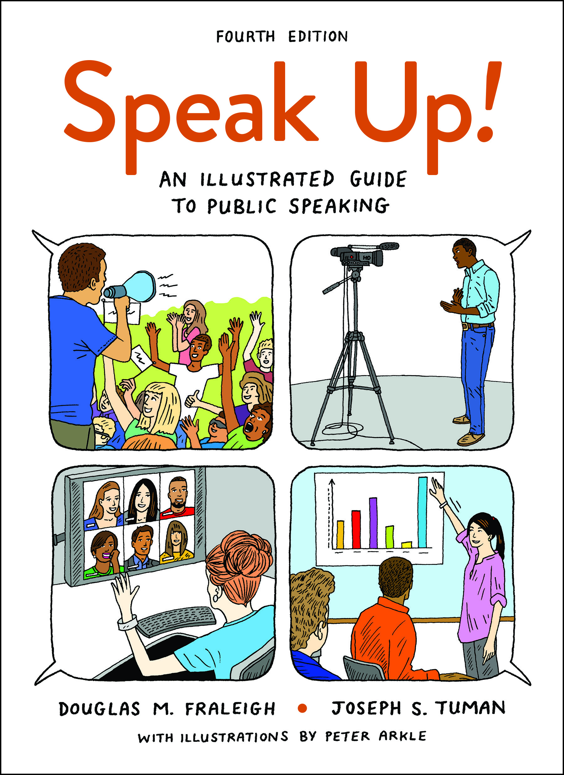 Bedfordst martins communication speech communication speak up an illustrated guide to public speaking fandeluxe Image collections