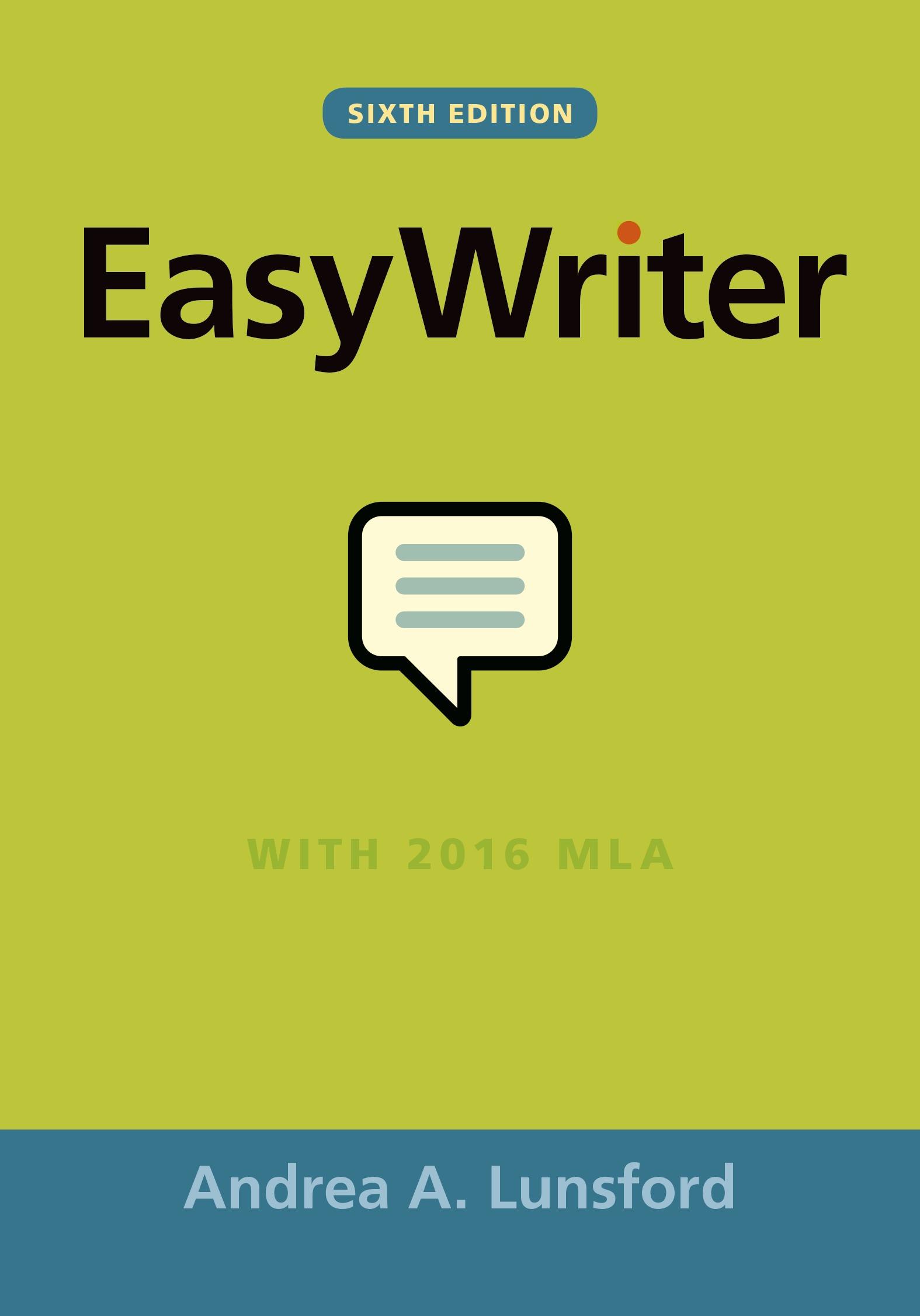 Easy writer pdf