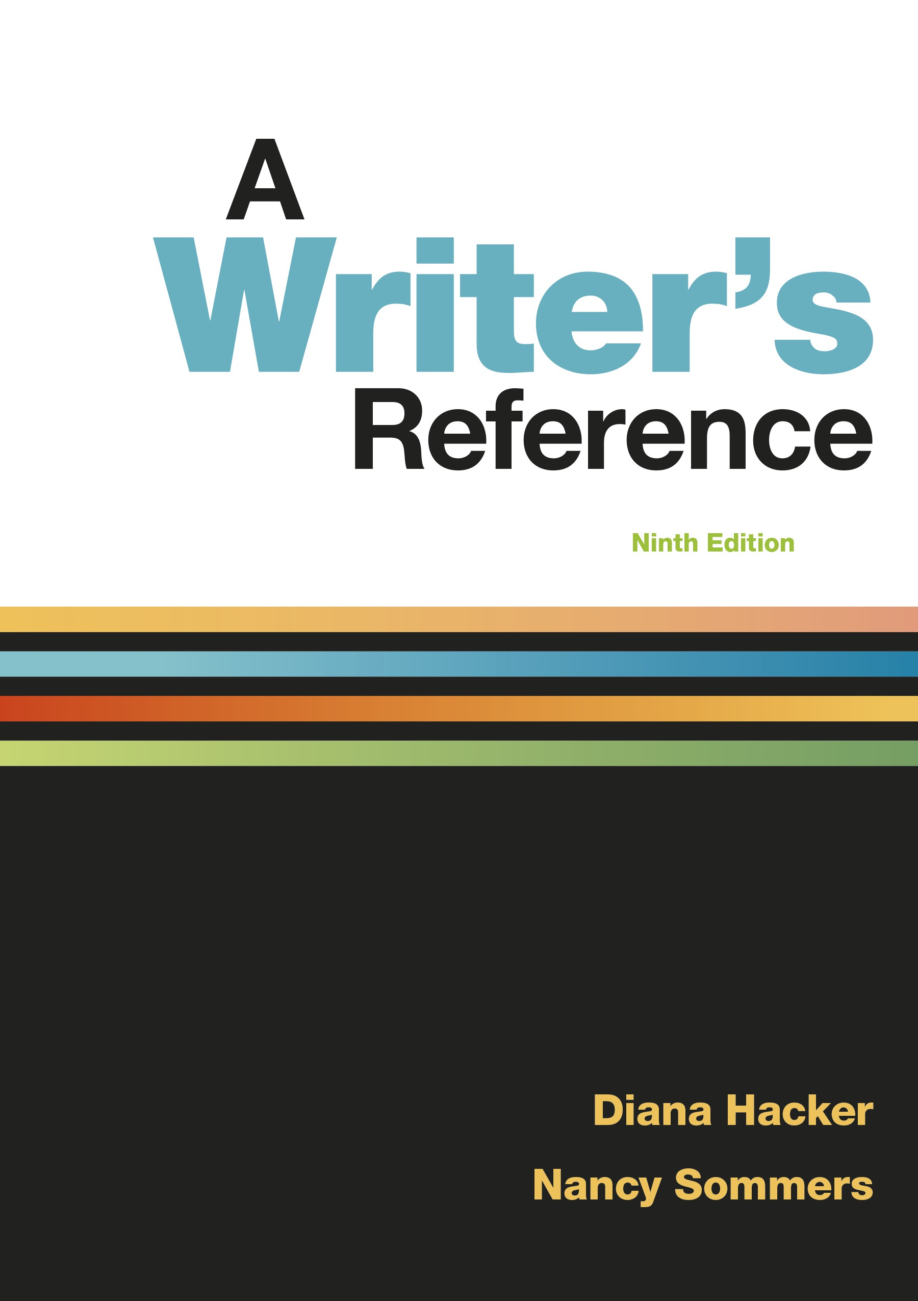 A Writer S Reference 9781319057442 Macmillan Learning