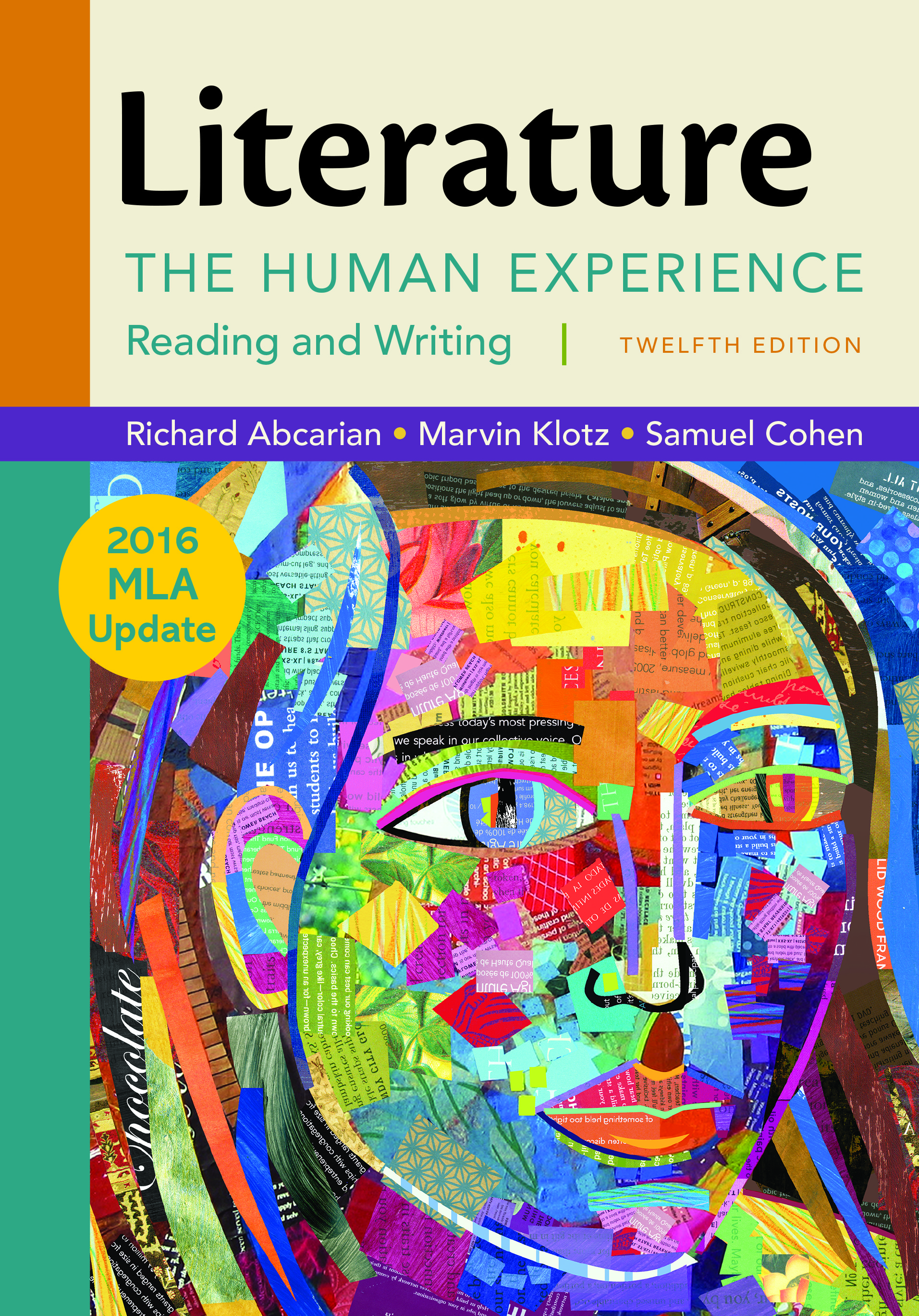 Literature The Human Experience With 2016 Mla Update