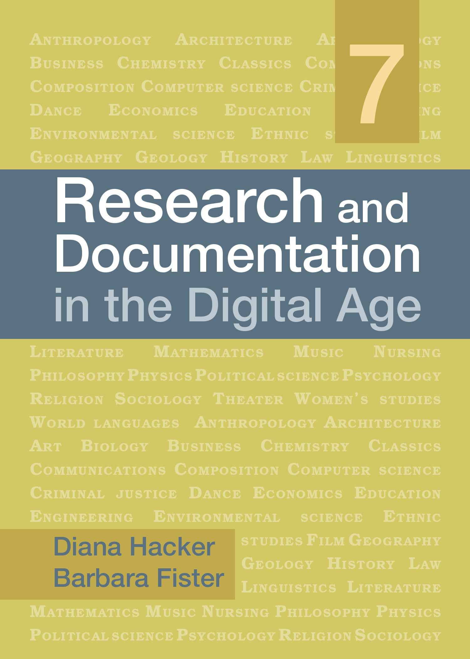 dianah hacker research papers Diana hacker's research and documentation online has lots of information to help you this paper has been updated to follow the style guidelines in.