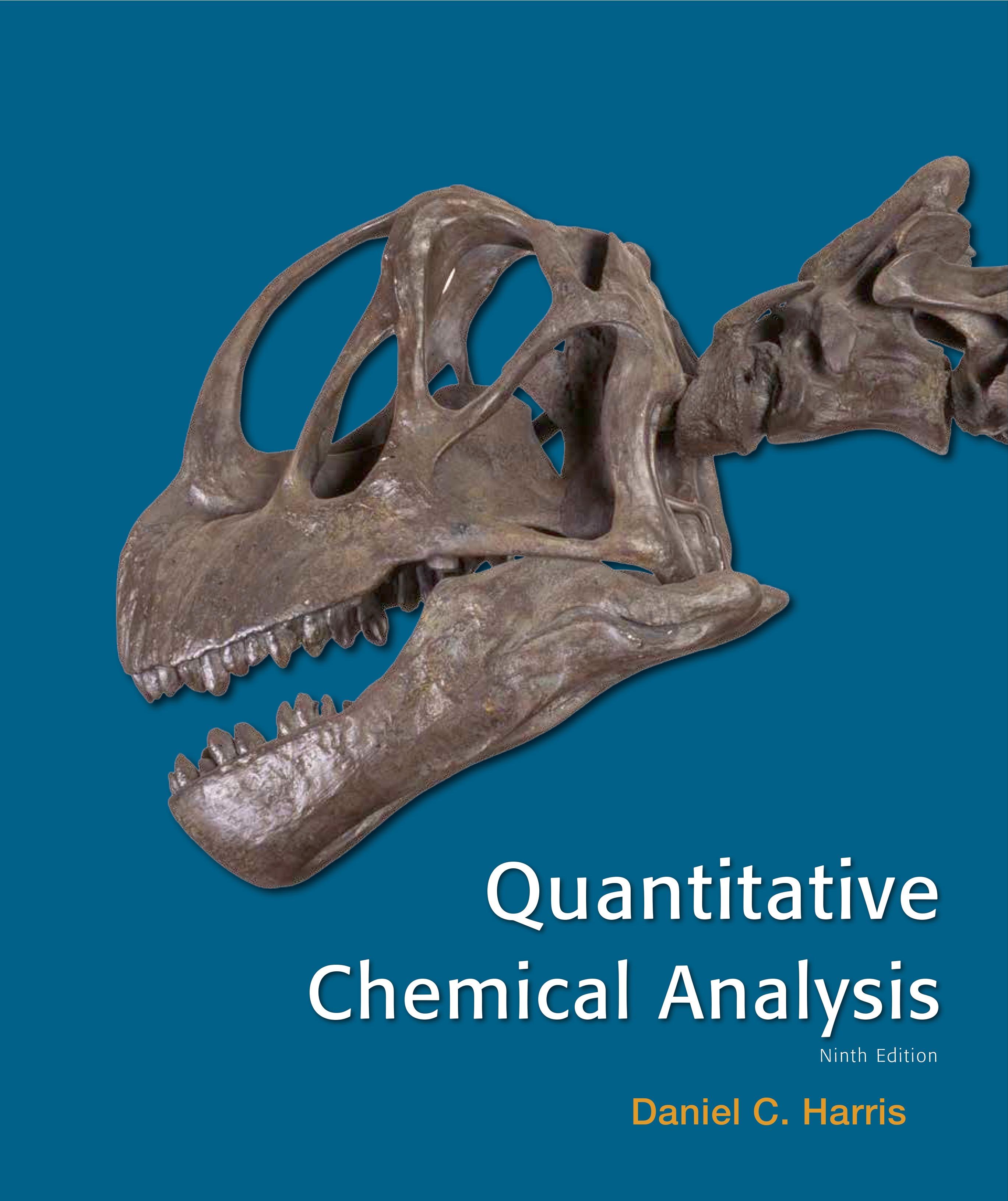 Quantitative chemical analysis (Book )