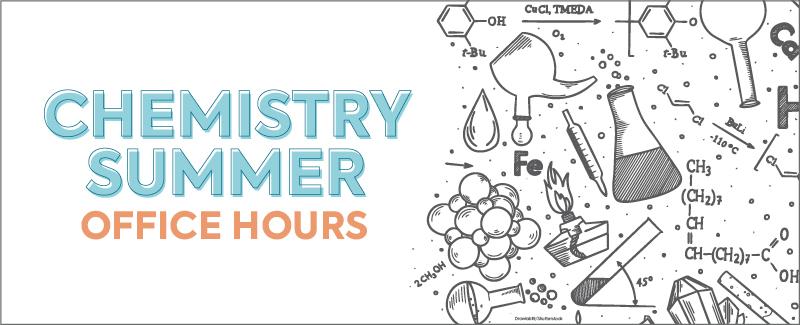 Chemistry instruments and symbols