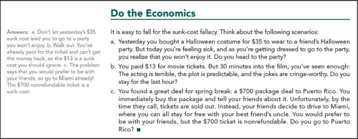 Do the Economics exercise from Principles of Economics 1st edition.