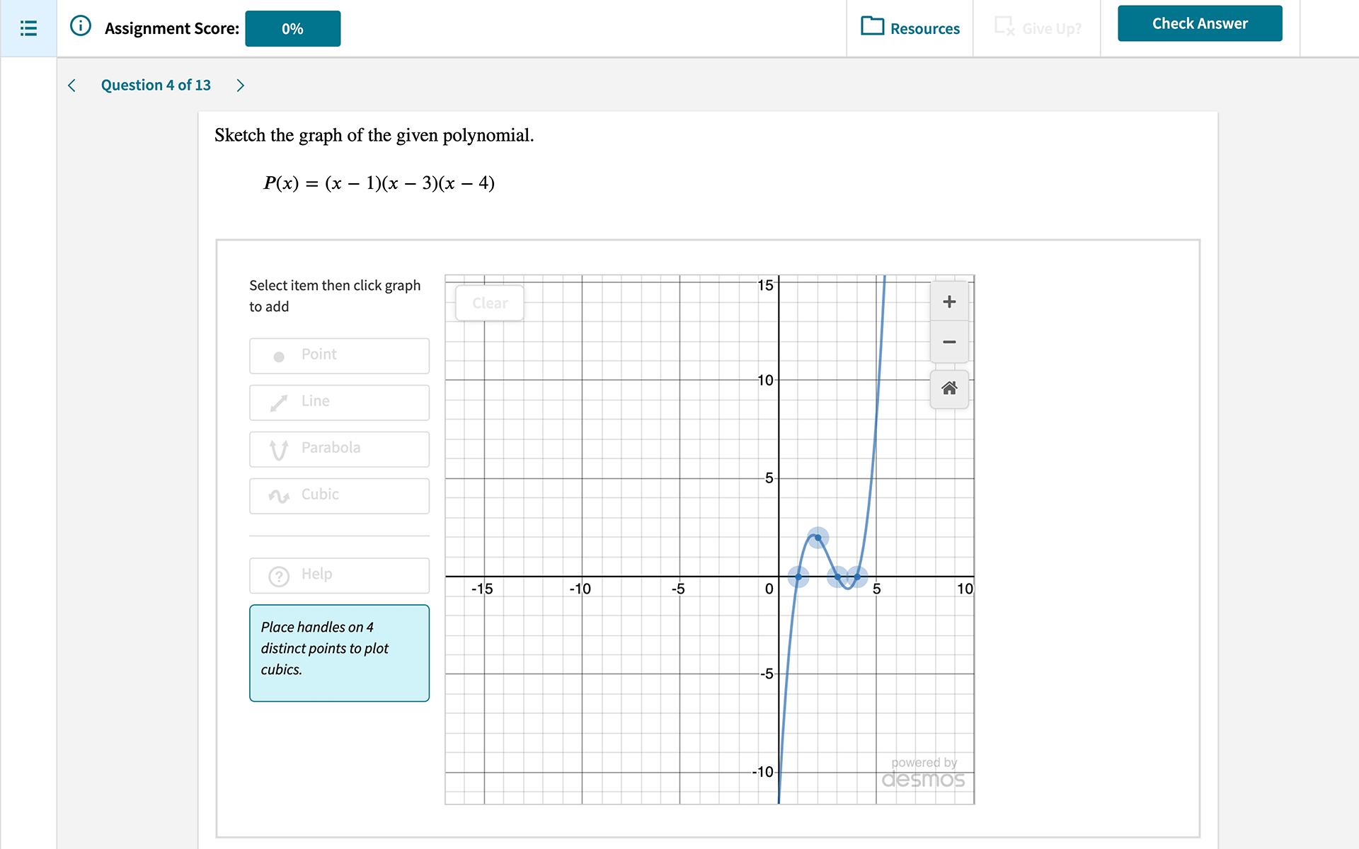 achieve graphs