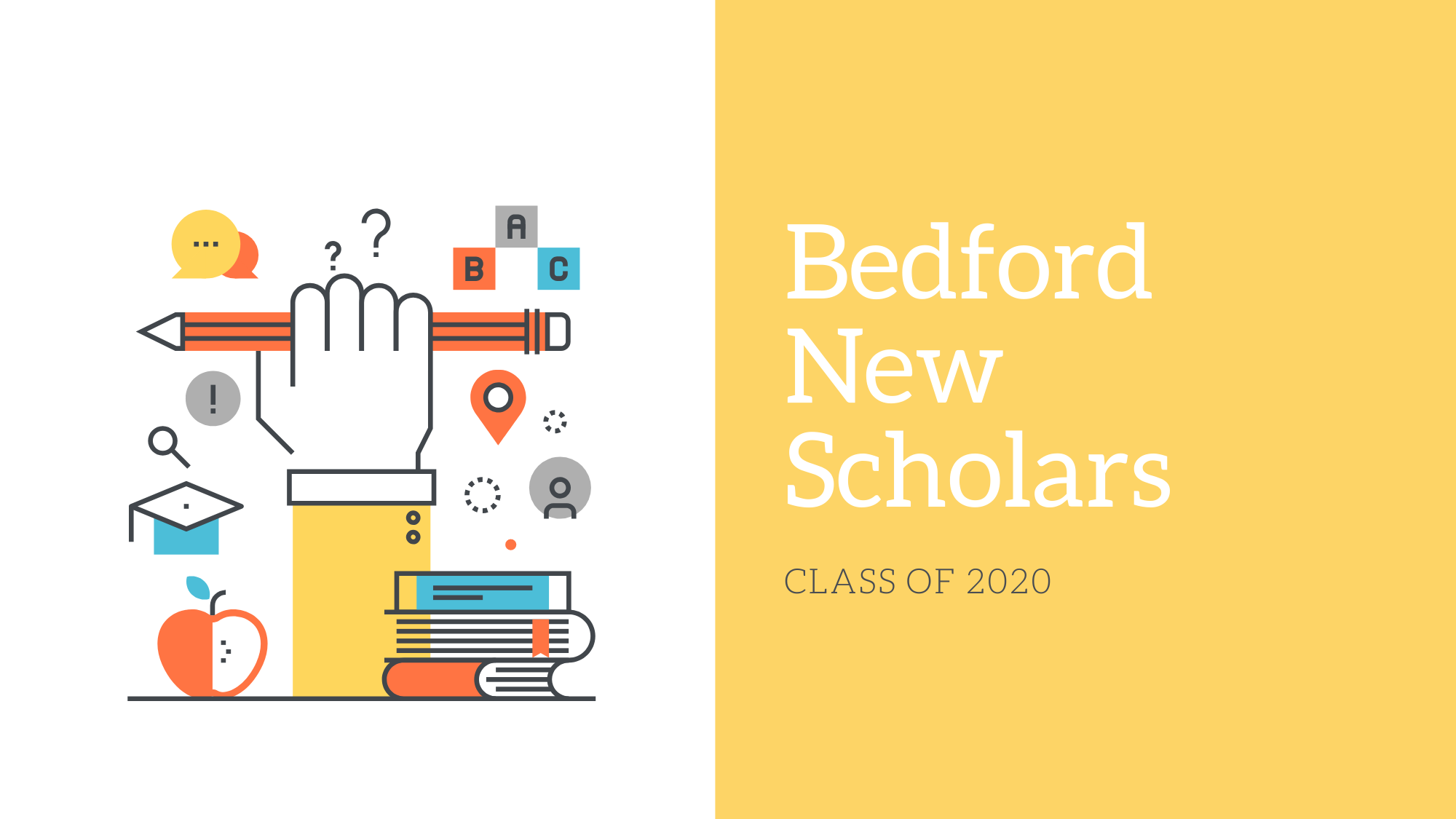 Bedford New Scholars Class of 2020