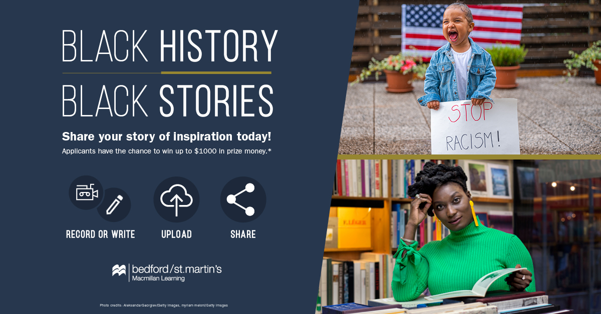 Second Annual 'Black History, Black Stories' Contest Launches